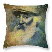 Pissarro Throw Pillow