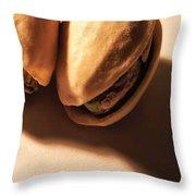 Pistachio Friends Throw Pillow