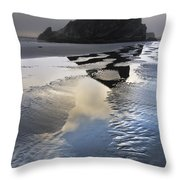 Pistol River Throw Pillow