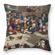 Pit Ticket, 5th November 1759 Throw Pillow