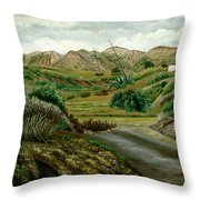 Pitas' Path Throw Pillow