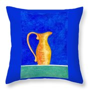 Pitcher 2 Throw Pillow