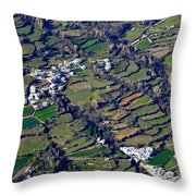 Pitres And Capilerilla From The Air Throw Pillow