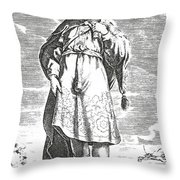 Pittacus Of Mytilene, Sage Of Greece Throw Pillow