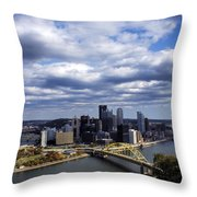 Pittsburgh After The Storm Throw Pillow