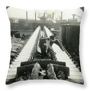 Pittsburgh Foundry Throw Pillow