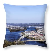 Pittsburgh North Throw Pillow