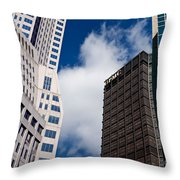 Pittsburgh Skyscrapers Throw Pillow