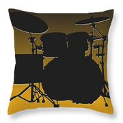 Pittsburgh Steelers Drum Set Throw Pillow
