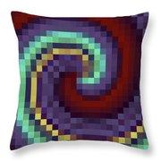 Pixel 1 Throw Pillow