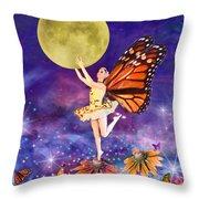 Pixie Ballerina Throw Pillow