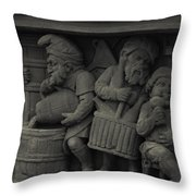 Pixie Brewers Throw Pillow