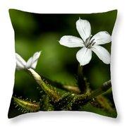 Pixie Flower Throw Pillow