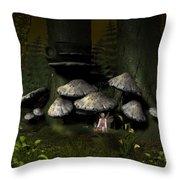 Pixie Glenn Throw Pillow