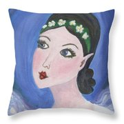 Pixie Two Throw Pillow
