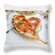 Pizza Amore Throw Pillow