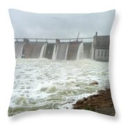 Pk Dam Throw Pillow