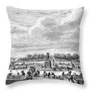 Place Louis Xv, 1763 Throw Pillow