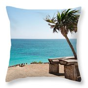 Place To Relax Throw Pillow