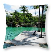 Place To Swim   Throw Pillow