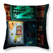 Place Without Windows Throw Pillow