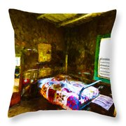 Places From The Past Throw Pillow