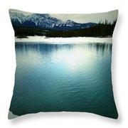 Placid Hills  Throw Pillow