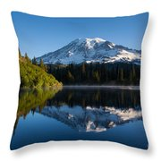 Placid Reflection Throw Pillow