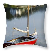 Placidity Throw Pillow