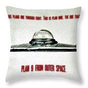 Plan 9 Seinfeld Throw Pillow