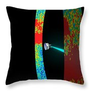 Planck Space Observatory Scanning Throw Pillow