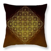 Planck Space Time  Throw Pillow