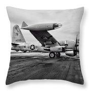 Plane - P2v-7 Neptune Aircraft Throw Pillow