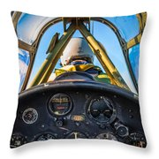 Plane Ride Throw Pillow