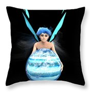 Planet Gift Throw Pillow