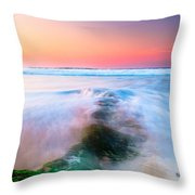 Planet Water Throw Pillow