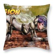 Planetary Invasion Throw Pillow