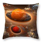 Planetary Plasmas Throw Pillow
