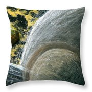 Planets 1 Throw Pillow