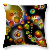 Planets Aligned Throw Pillow