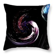 Planets - Reunion Island - Indian Ocean Throw Pillow
