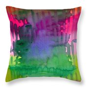 Planning The Colors Throw Pillow