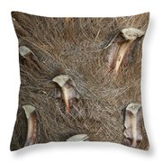 Plant Pattern 1 Throw Pillow