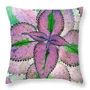 Plant Pattern - Photopower 1212 Throw Pillow