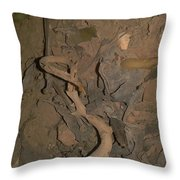Plant Residues Throw Pillow
