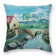 Plantation 1 Throw Pillow