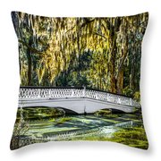 Plantation Bridge Throw Pillow