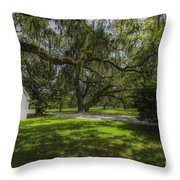 Plantation Grounds Throw Pillow