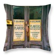 Planters Throw Pillow