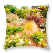 Planting Hope Throw Pillow
